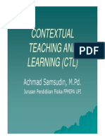 Contextual Teaching and Learning (Ctl) [Compatibility Mode]