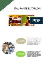 Trabajo 1-Restaurante El Tablon
