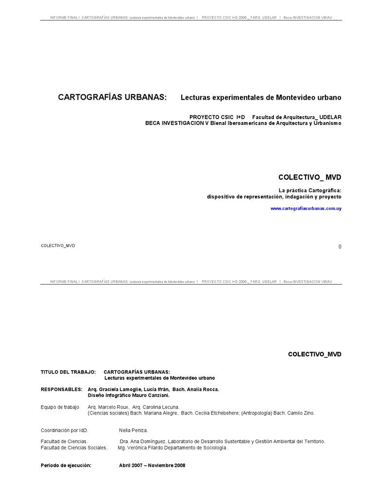 COLECTIVO MVD _ Cartografias Lecturas Experimentales
