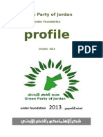 Green Party of Jordan Profile