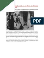 El Cacique Inakayal Muerto en El Museo de Ciencias Naturales de La Plata