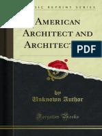 American Architect and Architecture 1000000501