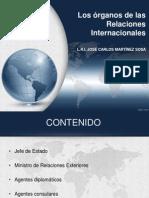 órganos de las relaciones internacionales