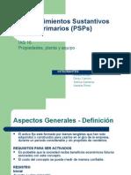 Procedimientos Sustantivos Primarios (PSPs).ppt