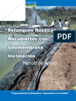 Instalacion de Geomembranas Cuadaradas
