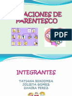 Diapositivas Relaciones de Parentesco