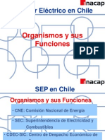 Organismos de SEP en Chile