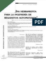 Heler Una Herramienta Para Ingenieria Requisitos Automatizada