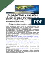 El Colesterol y Sus Mitos