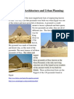 monumental architecture and urban planning pyramids