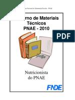 Cadernos de Materiais Técnicos PNAE