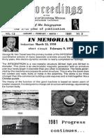 Proceedings-Vol 12 No 03-Jan-Feb-Mar-1981 (George Van Tassel)