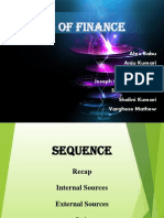 FM - Sources of Finance