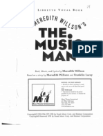 The Music Man Script Act 1