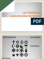 Las 5 Religiones 2003
