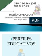 PERFILES EDUCATIVOS