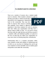 more than turning up handbook eusa volunteering