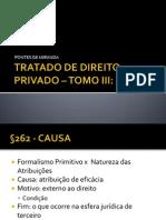 TRATADO DE DIREITO PRIVADO – §262-§277