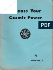 Michael X Barton - Release Your Cosmic Power(1961)