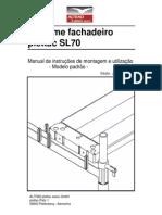 Manual_de_instruções_de_montagem e utilização_Andaime_SL70