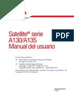 Manual Toshiba A135