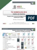 TIC Domicilios 2012