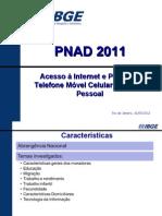 PNAD Acesso Internet