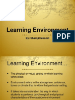 learning environment pres