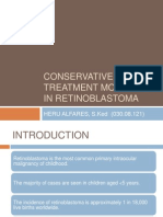 Conservative Treatment Modalities in Retinoblastoma