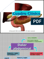 Cuadro Clínico pancreatitis