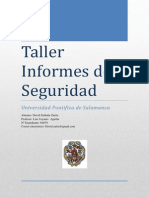 Taller - Informes de Seguridad - David Saldaña Zurita