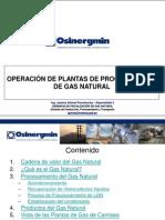 Operacion Plantas Procesamiento de Gas Natural