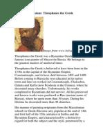 Andrey Rublev i Teophanes the Greek