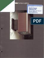 Halo Lighting Surface Lighting Catalog 1983