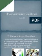 El Conocimiento Científico2012