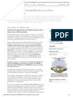 AGROTÓXICOS , TRANSGÊNICOS E OUTROS CONTAMINANTES_ Consumo de agrotóxicos no Paraná é quatro vezes maior que a média nacional.pdf