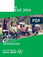 Programa FEUC NAU 2014