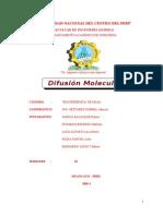 Difusion Molecular 2013 II
