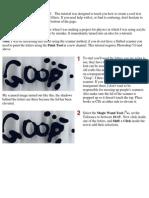 Goop Text