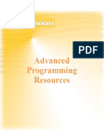Advanced Programming Resources