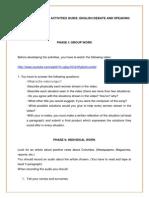 Activities Guide Debate and Speaking