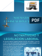 Normatividad y Legislacion Laboral