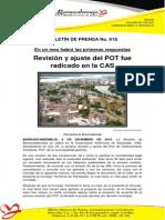 Boletin de Prensa No 618