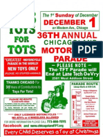 2013 Chicagoland Toys for Tots Motorcycle Parade