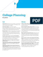 BigFuture College Planning Calendar Juniors