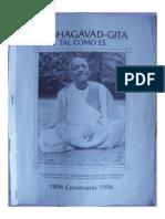 Guía de Estudio del Bhagavad-gita Tal Como Es