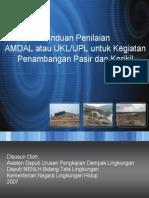 Contoh AMDAL Pasir Komplit