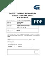 KKBI Cover Sheet