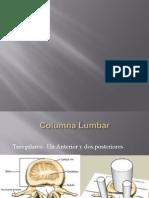 Biomecanica Columna Lumbar