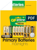 GP Primary Batteries